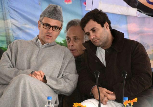 Haha RT @DrSweta148: Rahul: NC haar gayi j&k mein Omar: Congress ne jaise majority layi hai  #ModiMagicAgain http://t.co/dR2j4dMVxW