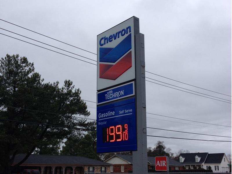 Gas prices in #Tuscaloosa drop to $1.99 a gallon http://t.co/E0kQo4Jfga http://t.co/806ec4yEZk
