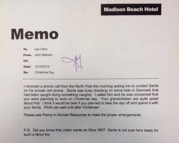 how to sign a memo