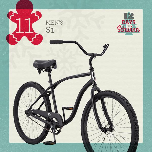 Day 11: 12 DAYS OF SCHWINN Enter to win a Men's S1 for you and a friend! http://t.co/WYpPF1yM1t #holiday #win http://t.co/eXP05taeKL