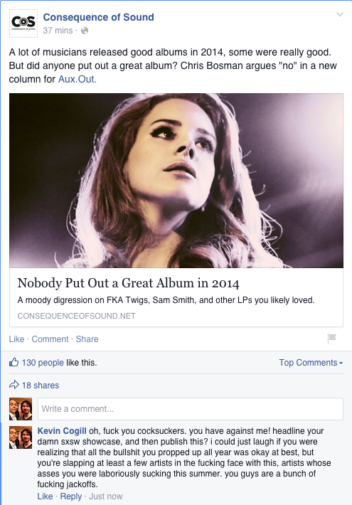 you know what, fuck these fucking dickheads, for real. cc @LauraJaneGrace @st_vincent http://t.co/X4YcVLQJ6R