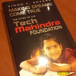 RT @vrindapisharody: #MakingDreamsComeTrue -Touching Tribute 2 @tech_mahindra foundation & its ppl @anandmahindra http://t.co/RNacqzovXQ ht…