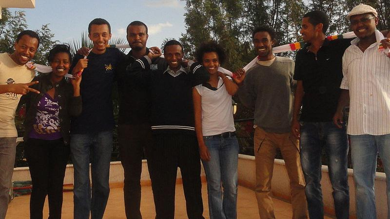 We remember journalists in jail for their work, unable to be with loved ones this time of year. #FreeZone9Bloggers http://t.co/f8Zj2qKgKk