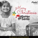 RT @NanhiKali: 100,000 Nanhi Kalis wish you Merry Christmas. Visit http://t.co/BKBXawouzs to make this her best Christmas! http://t.co/ZUx8…