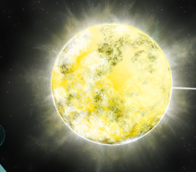 A star made out of diamond and 12 other amazing things we for What is outer space made of