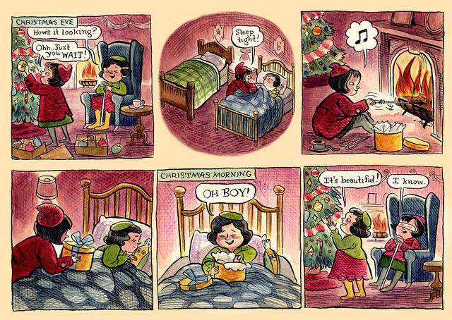 Old Christmas comic http://t.co/QYzao1gfJB