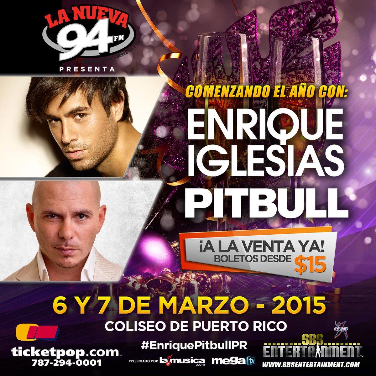 ¿A quiénes invitarás para el concierto de @enrique305 + @Pitbull? http://t.co/kmSMDFkwY7 #EnriquePitbullPR http://t.co/PhTqlvwhdi