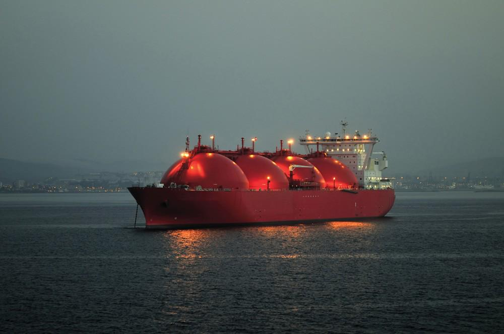 As LNG was heavily discussed in #2014, an LNG tanker makes a fitting #PhotooftheDay http://t.co/lwPeTGky2I