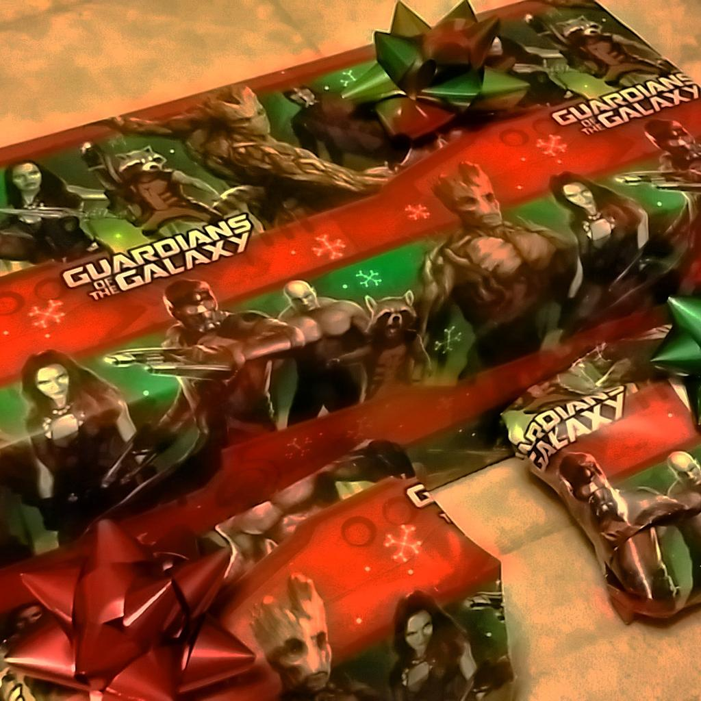 Country Christmas Wrapping Paper
