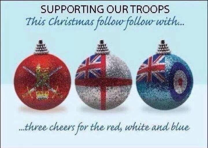 Special thought & #HappyChristmas 2our brilliant #armedforces serving away from their families 2day #RAF #Navy #Army http://t.co/4uI1qCsyO3