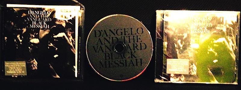 """D'Angelo """"Black Messiah"""" CD到着! 笑った。itunesデータ全然駄目す。もう次元が違う。これやはりデータをHDDとかでなくトレースする従来の再生フォーマットでないと駄目でしょう。2月発売2LPも俄然期待。 http://t.co/8Z5lyoGZlg"""