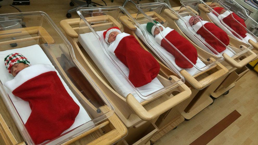 Holiday newborns go home in Christmas stockings: http://t.co/LLhmoag0H4 http://t.co/tKtIupbzzQ