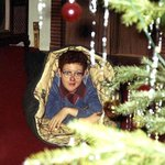 Oh, you know, just camping out under the Christmas tree, as one does.  #tbt http://t.co/qOYj2TxkgS