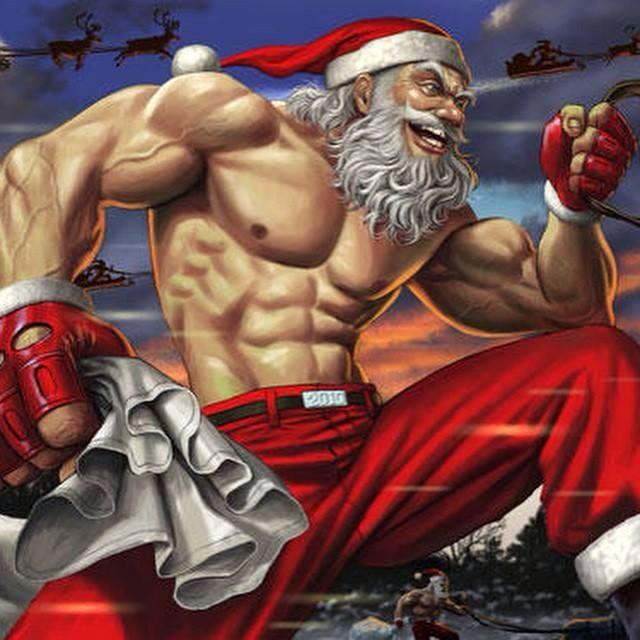 @ZakkWyldeBLS uh oh holy crap Santa broke into the #BLSFamily secret stash of roid eggnog & KimK rump builder! http://t.co/ul7SMEJUrA