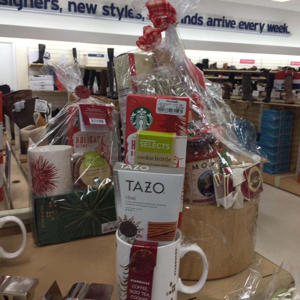 @starbucks gift baskets half off @marshalls #afterchistmassale #dandc tazo tea set only $6.50. - scoopnest.com