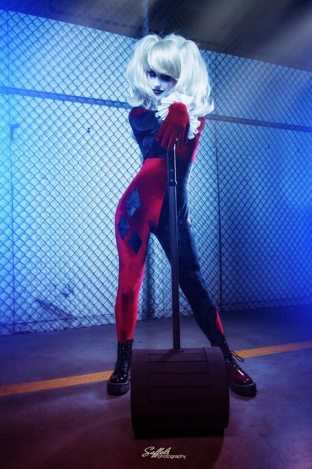Harley Quinn par TheRealLittleMermaid #cosplay #batman http://t.co/enKRdtnhhr