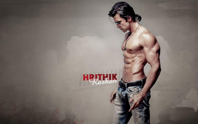 """BollyKick wishes Bollywood Hunk \""""Hrithik Roshan\"""" a Happy Birthday  Tell us your favourite Hrithik movie?"""