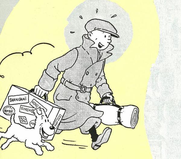 Happy Birthday, Tintin!  7歳から77歳の若者達へ、夢と希望と勇気を! タンタン、86回目の誕生日。上限撤廃だね、全ての若者達へだ(^_^)v http://t.co/fmK5PeKvzT