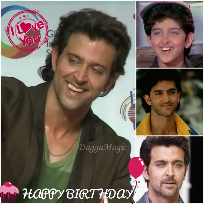No1 hs evr cn GOD. Bt I hv, HRITHIK ROSHAN is my GOD by all means. HAPPY BIRTHDAY my lord. May u live long!