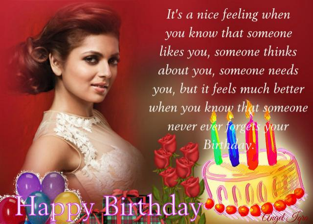 Happy Birthday Drashti Dhami love uuuuu
