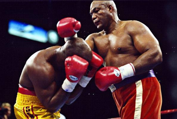 Happy Birthday George Foreman, 66 today. I honestly think he\d give some of the current heavyweights a good fight!