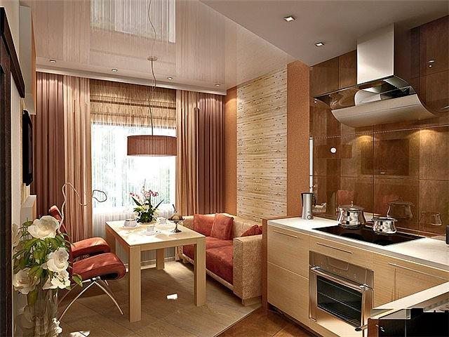 Дизайн интерьера кухни 14 кв м