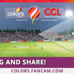 RT @ColorsTV: We're capturing everyone at the #CCL Opening Game with the @ColorsTV CCL Fancam!  Stay tuned! @rajcheerfull @Riteishd http://…