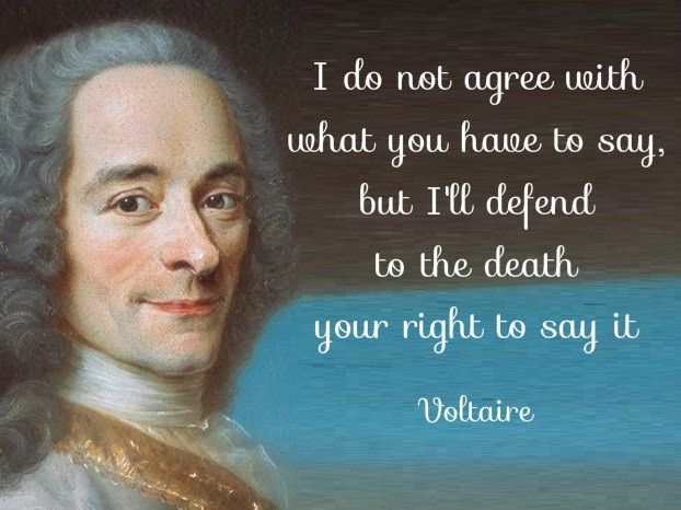 #ParisShooting sadness and a quote to share if you believe in defending freedom of speech. #JeSuisCharlie http://t.co/SMGBUY8Vxu