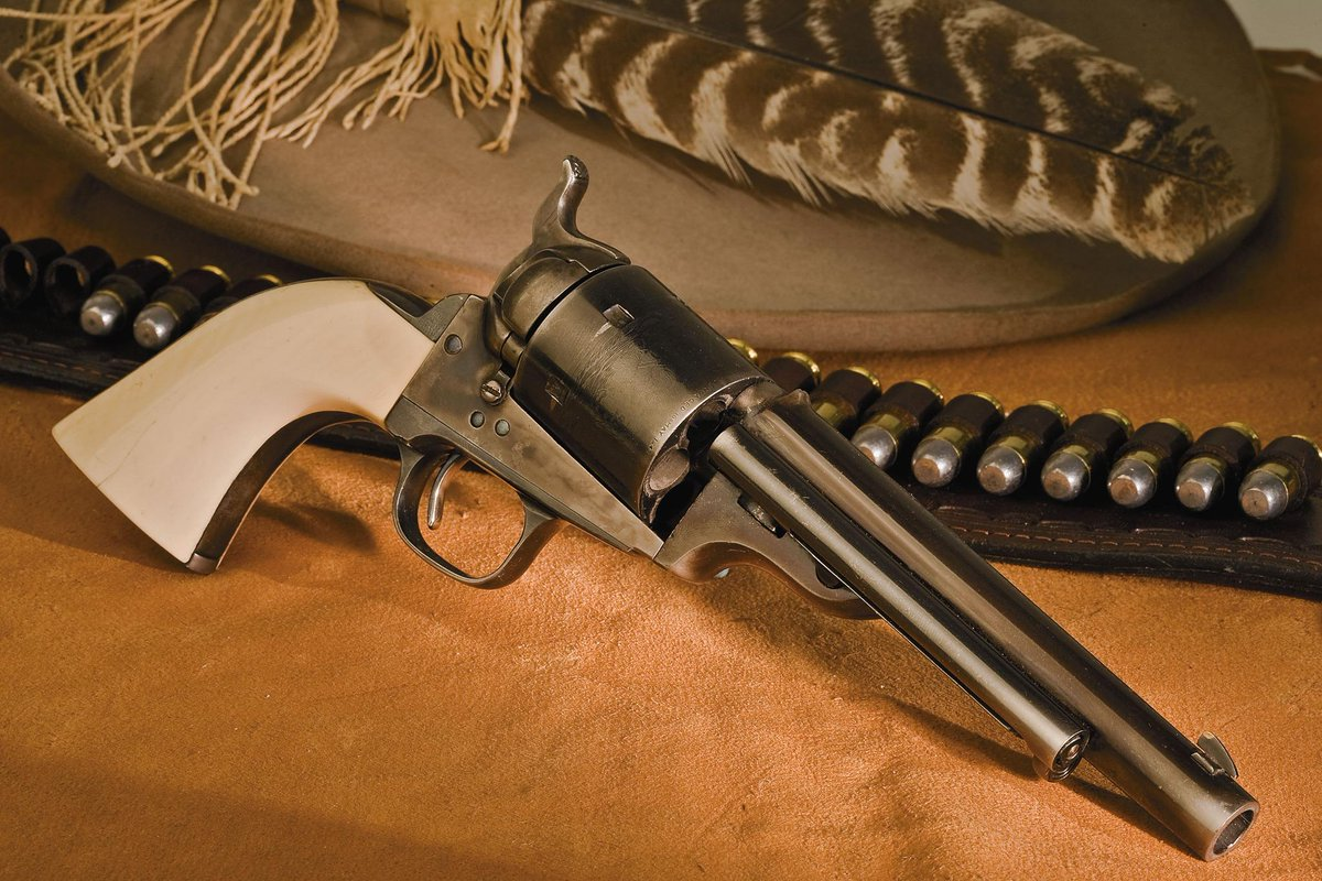 Today's throwback is the @ColtFirearms Open Top Model of 1871-1872, the  predecessor to the Single Action Army. #tbt http://t.co/QYamEjuhfJ
