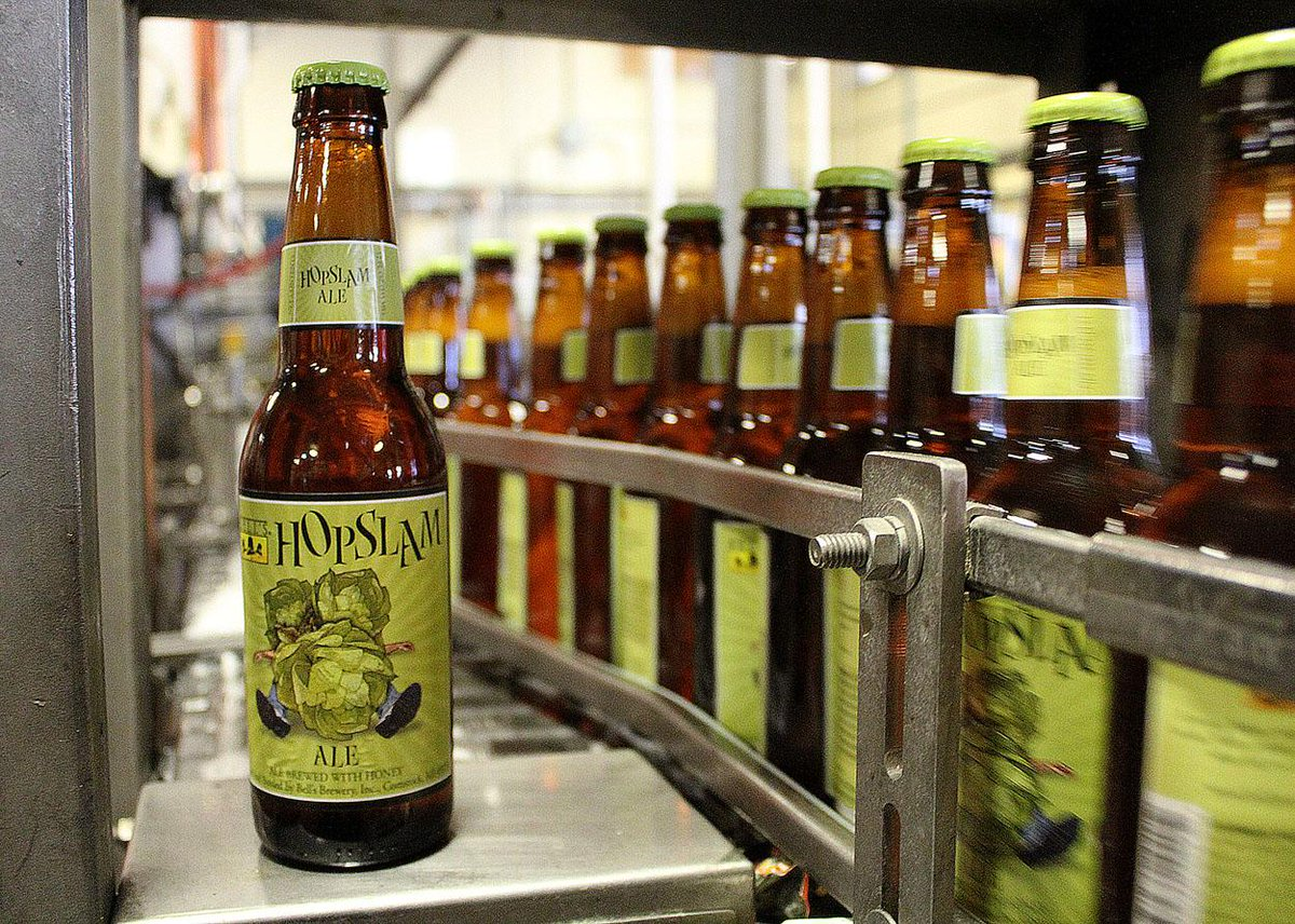 Hopslam is on the Bottling Line today! Shipping begins next week. More details: http://t.co/gRXUPujun0 http://t.co/yqSyyJMymE