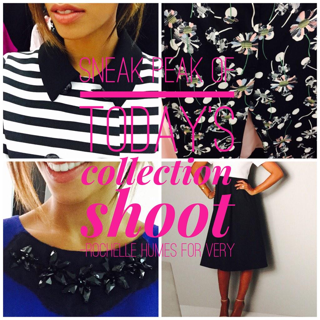 @verynetwork #VeryMe Can't wait for you to see today's pics �� #rochellehumesforvery ��#sneakypeaky http://t.co/5QJ8Od6w7E