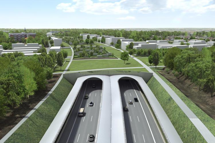 The Germans are burying bits of the autobahn in green space: http://t.co/IrGFJWwTBm http://t.co/FpfPtvtkKr