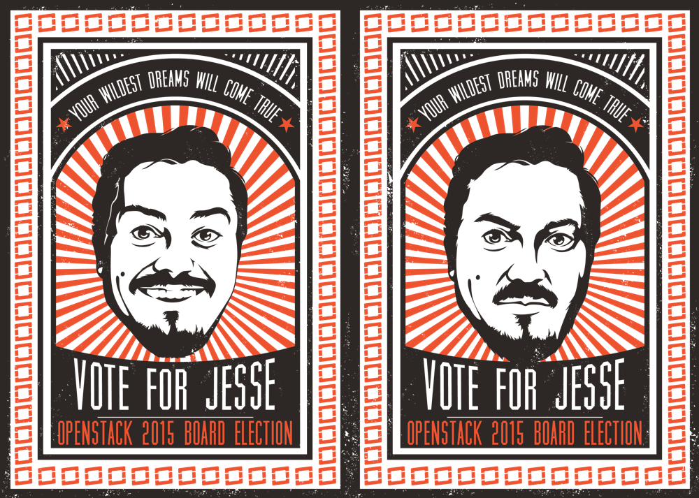 I'm asking for you support and vote in the #OpenStack board election.   https://t.co/qYUtwEZnf3  #VoteForJesse http://t.co/7o4XVW2l9B