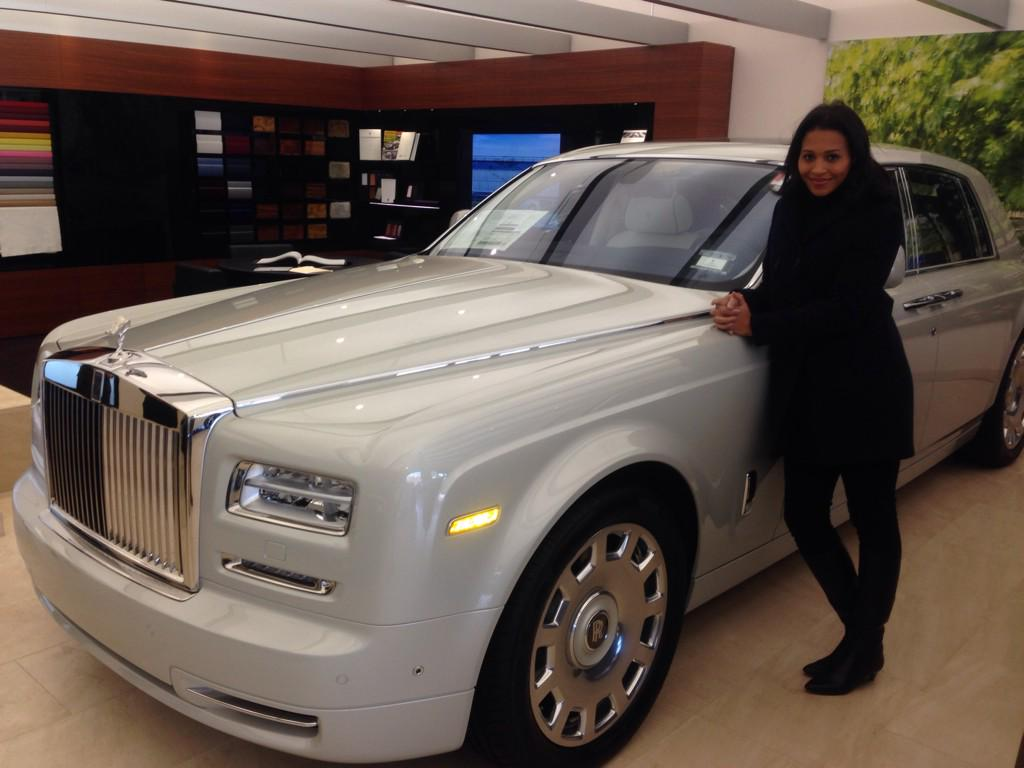 i'm about to test drive a rolls royce, baby! not a bad day at the