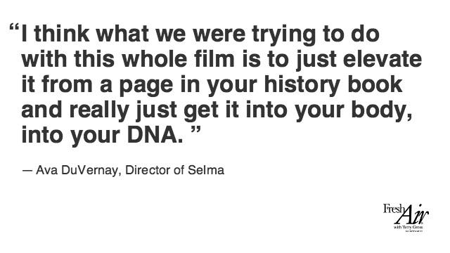 The Sounds, Space And Spirit Of 'Selma': A Director's Take http://t.co/EsFwwBpl7i @AVAETC http://t.co/fKUU0YyUGn
