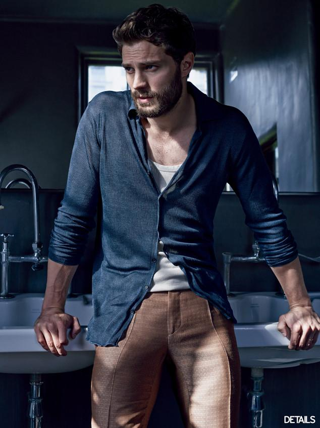 Trying to deal with the sexiness that is Jamie Dornan in the latest @Details mag! DAMN: