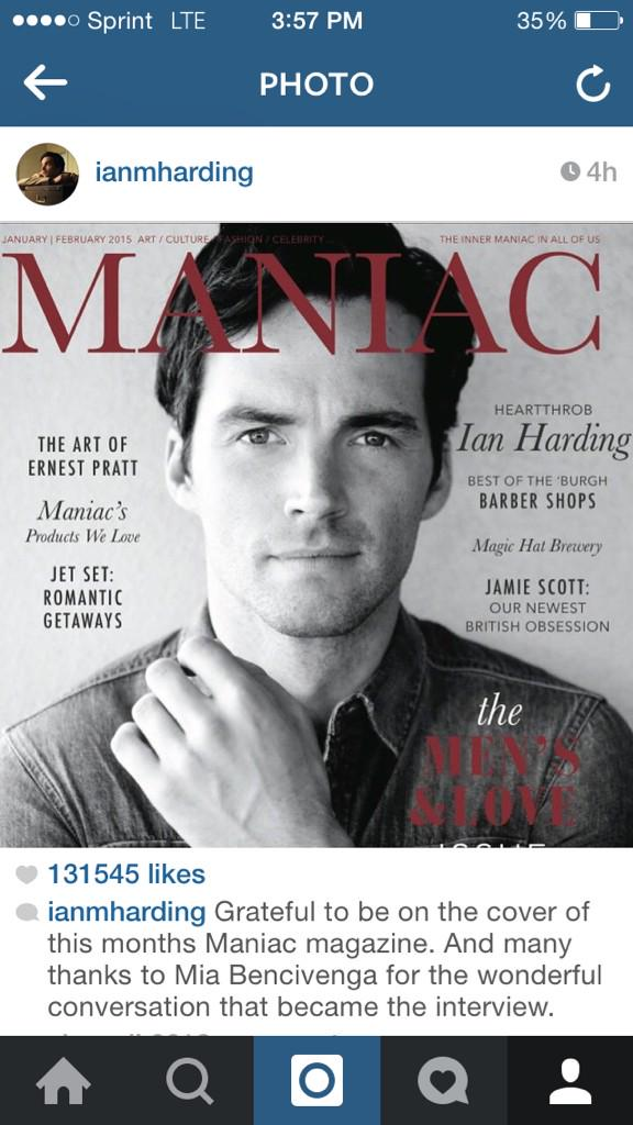 Thanks for sharing @IANMHARDING #maniacstyle http://t.co/jPnRjNfzyZ