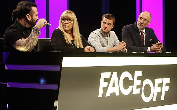 HungerGames star Josh Hutcherson to guest judge @Syfy's 'Face Off':