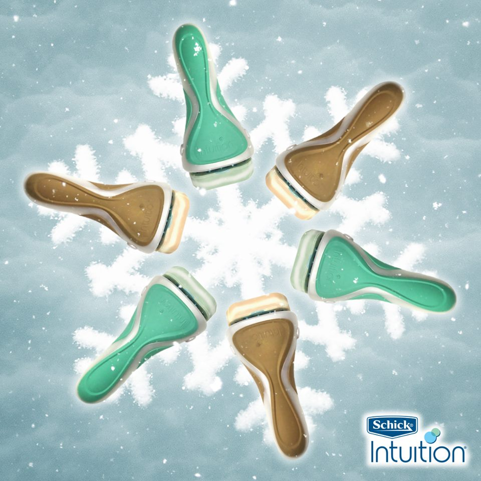 Snowflakes are pretty; flaky skin isn't. Lather, shave and moisturize in one easy step with Schick® Intuition®. http://t.co/U6OQOeY7J3