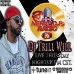 Thursdays 9pmEST. Listen to #MidWestHustlers @DJTrillWil on http://t.co/x6xP2z7zxB Get the Nervedjs Radio app! http://t.co/zSl47gAk9B
