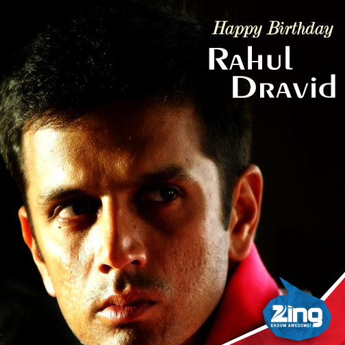 Wishing a very Happy Birthday to one of the greatest batsmen in the history of cricket Rahul Dravid a.k.a. Jammy!