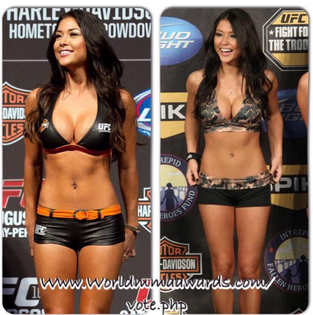 Cheesing hard 4 UFC since '06 !!Thnx 4 nominating me #ringgirloftheyear #voteforme ? http://t.co/5WWj3c3OsN