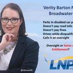 #QLDpol, #Entitlement @Verity_BartonMP via @uknowiSS http://t.co/ef03k4rGel #QldVotes #auspol http://t.co/8DXfNTDvwD oㄥO