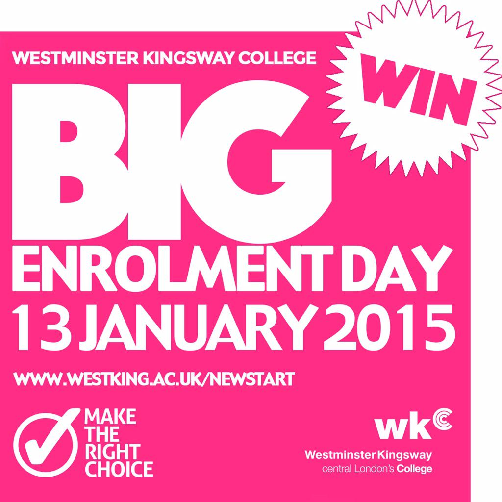 The @Westking BIG #competition is still on! RT & Follow to enter to #win an iPad http://t.co/kCVdxdpK9Z #Enrolment http://t.co/ynPipujwKS