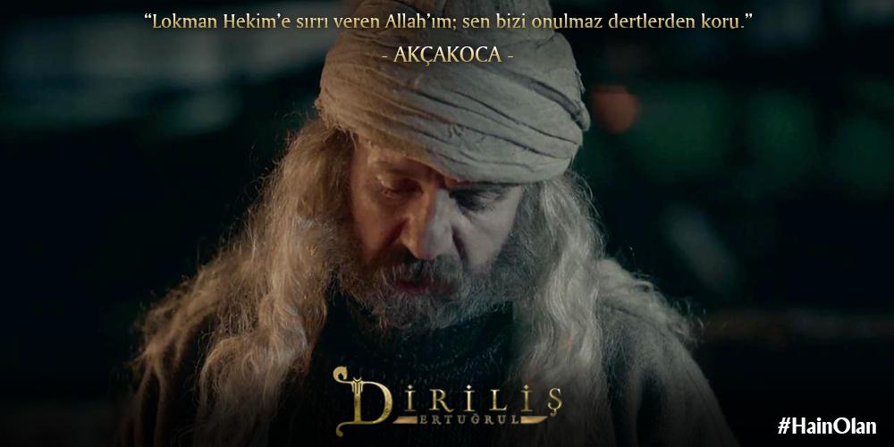 """GKeremY : RT @DirilisDizisi: """"Lokman Hekim'e s?rr? veren Allah'?m ..."""
