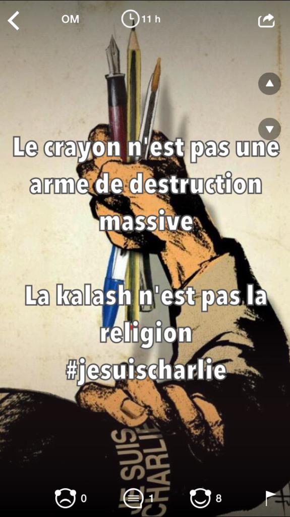Skyrock ✏️ (@SkyrockOfficiel): #JeSuisCharlie #Yax ! https://t.co/ctyOcYtdzt #Yax http://t.co/UWZ3SuxhfB