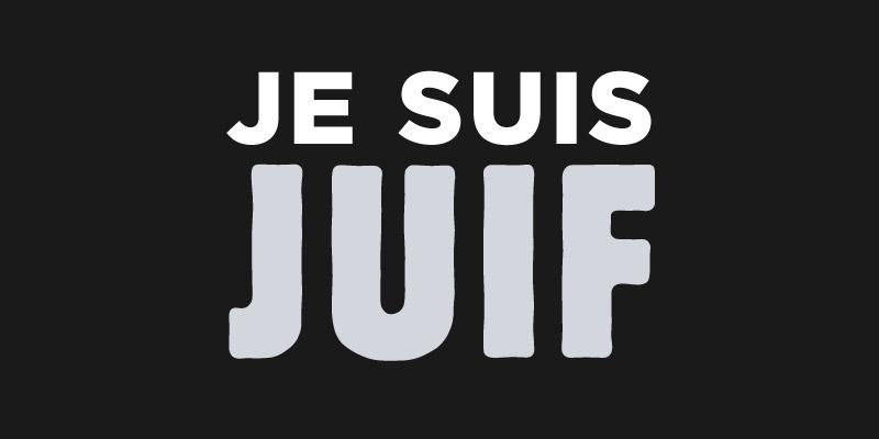 Our thoughts and prayers are with French Jews as they enter a Shabbat that is anything but peaceful. #JeSuisJuif http://t.co/ORh8Zo8sx0