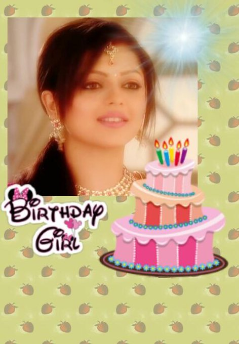 Happy birthday drashti dhami my angel..