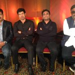 The I team: @shankarshanmugh, Vikram, @arrahman & PC Sreeram chat abt their film: Now Showing 8.30pm/11.30pm CNN-IBN