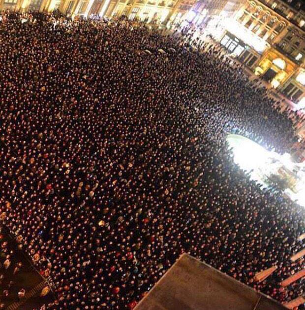 They wanted to bring France down. Instead, France stood up together #JeSuisCharlie http://t.co/SmhhKmKQWb